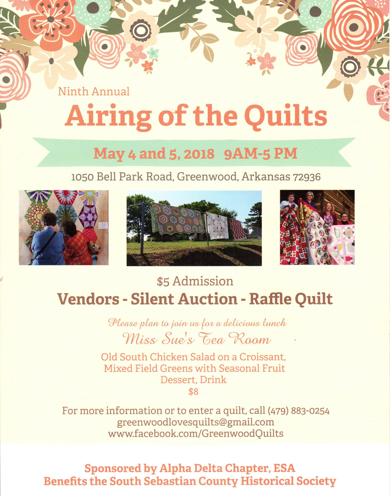 Airing of the Quilts > Greenwood Arkansas Chamber of